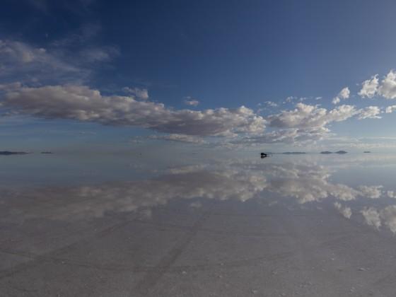 Salar de Uyuni als Panorama