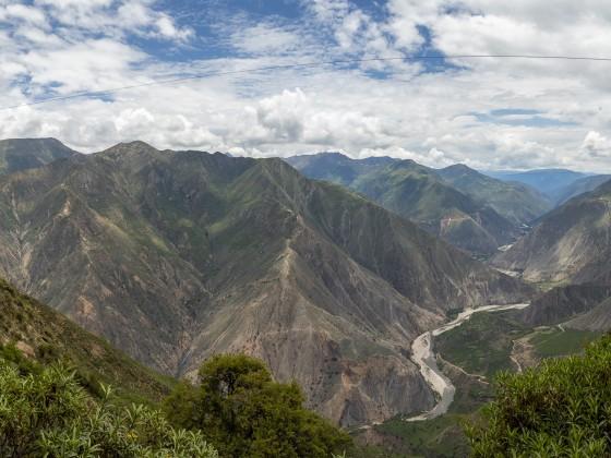 Ruta PE-32A: Hoch über dem Tal (Pano)