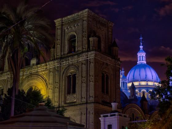 Cuenca, Blaue Stunde, eine neue Kamera und ein bisschen Bildbearbeitung