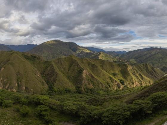 Ecuador, nahe der peruanischen Grenze