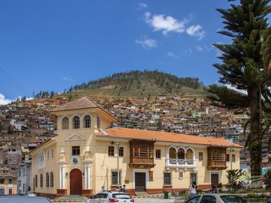 Tarma, Plaza de Armas